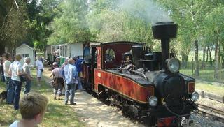 Train à Vapeur du lac de Rillé - Rillé